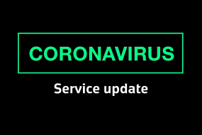 Service Update During Covid-19